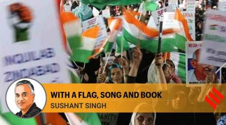 With a flag, song and book: Reclaiming national symbols is an act of political genius and imagination