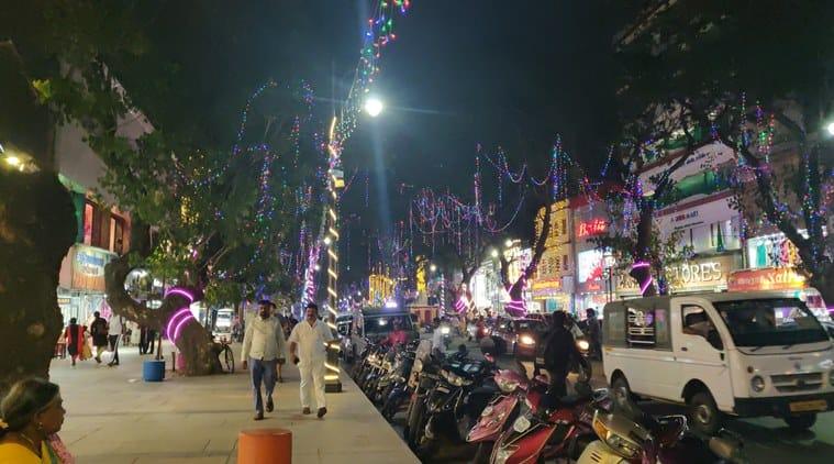 Chennai Pedestrian Plaza, Pondy Bazaar, T Nagar