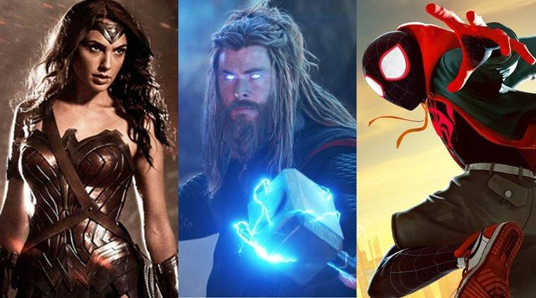 Top ten superhero movies of the last decade: Spider-Man Into the Spider-Verse, Avengers Endgame and more