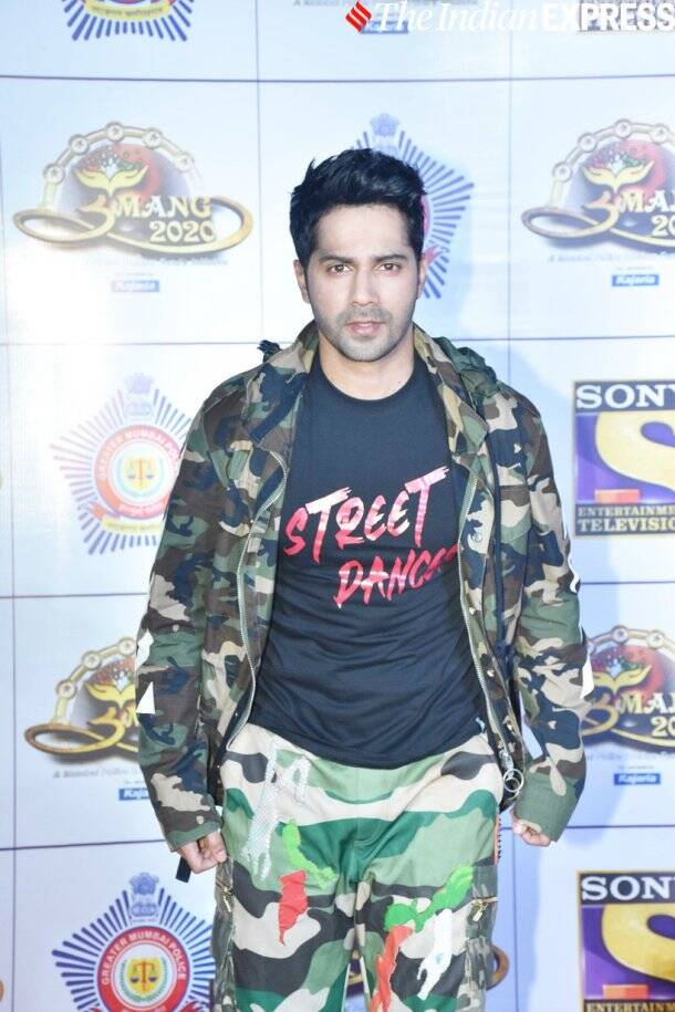 varun dhawan at umang 2020