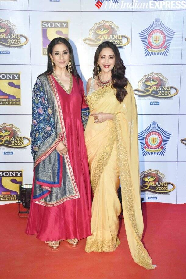 madhuri dixit with manisha koirala