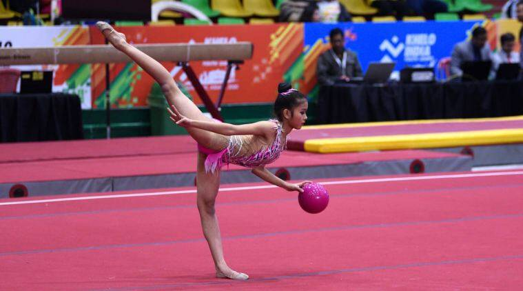 No coach, no practice hall – how an Assam teen learnt gymnastics via Skype  | North East India News,The Indian Express