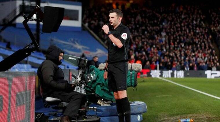 Premier League referees instructed to use pitchside monitors for red card decisions
