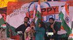 Rohit Vemula's mother unfurls tricolour at Shaheen Bagh on Republic Day