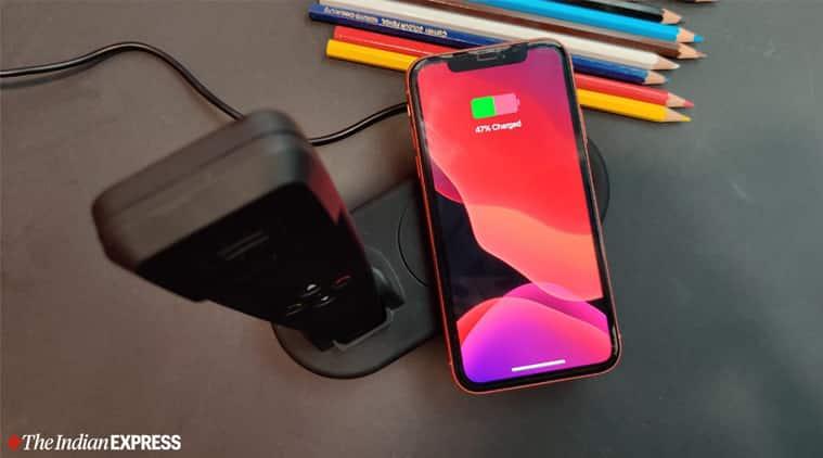 XECH Pulse wireless charger review, XECH Pulse wireless charger price, XECH Pulse wireless charger with smart handset price, XECH Pulse wireless charger features, XECH Pulse wireless charger specifications, wireless charger review