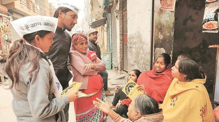 aap, aam aadmi party, aap delhi elections, aap volunteers, delhi assembly elections 2020, delhi elections, delhi elections news