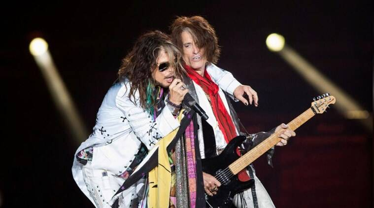Johnny Depp jams with Aerosmith as band celebrates 50-year career