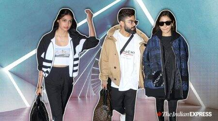 airport looks, Ananya Panday latest photos, kareena kapoor latest photos, kriti sanon latest photos, hrithik roshan latest photos, Karan Johar latest photos, indian express, celeb fashion, lifestyle