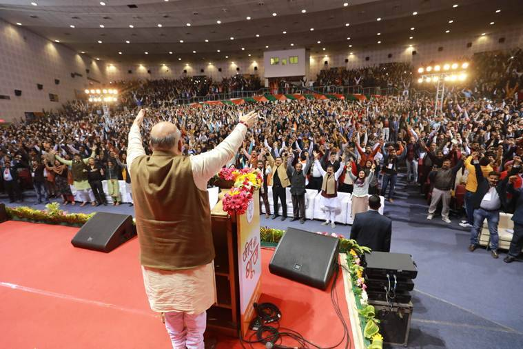 Press lotus button on Feb 8 so hard, current should make Shaheen Bagh protesters vacate: Amit Shah