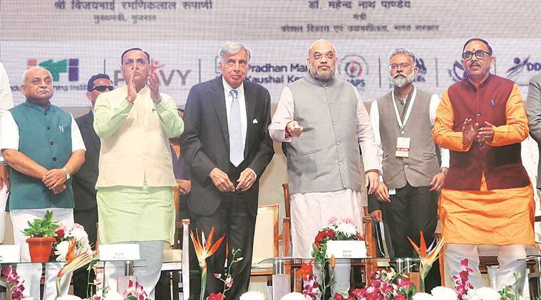 Integrate IISs with  ITIs: Amit Shah to Tata
