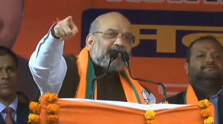 Nehru promised citizenship to Pak minorities, Cong protesting CAA to protect vote bank: Shah