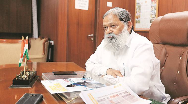 Haryana government, Mandatory service for govt medical students in punjab hospitals, anil vij, health minister anil vij, punjab hospitals, MBBS and MD students, india news, indian express