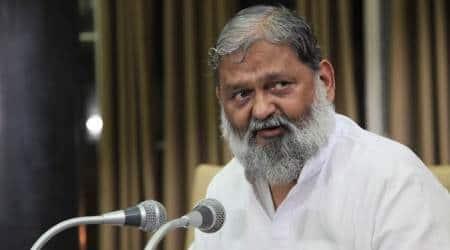 anil vij, haryana home minister, haryana news, haryana government, Manohar Lal Khattar, CM