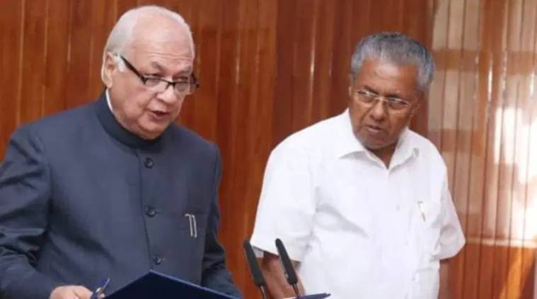 kerala govt governor fight on citizenship act, kerala chief secretary meets governor, kerala governor on citizenship amendment act, kerala caa, kerala news