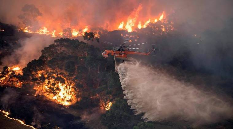 Incredible image shows full extent of Australia's devastating wildfires