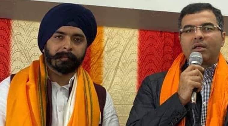 Delhi Assembly elections, Delhi elections, Tajinder Pal Singh Bagga, notice to Bagga, Bagga campaign video, Bagga campaign song, Delhi BJP, AAP, Elections news, city news, Indian Express