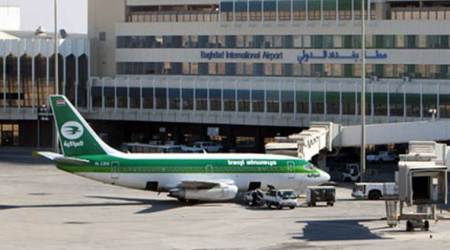 baghdad airport attacked, rocket attack on baghdad airport, baghdad international airport attacked, baghdad news