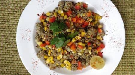 pearl millet salad, healthy salad recipe, health benefits of bajra, healthy bajra recipe
