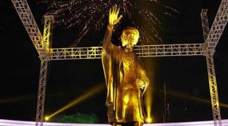Bal thackeray statue, brihanmumbai municipal corporation, mumbai news, maharashtra news, indian express news