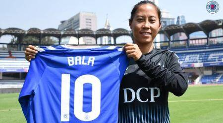 A first in Indian football: Rangers FC sign Bala Devi