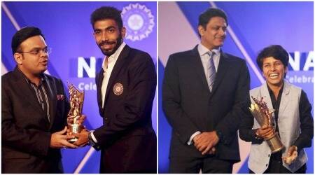 BCCI Annual awards: Jasprit Bumrah, Poonam Yadav receive top awards