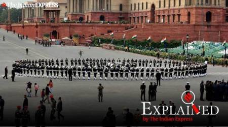 Beating Retreat ceremony, Beating Retreat ceremony 2020, what is Beating Retreat, Republic Day, Abide with me, indian express, indian express explained