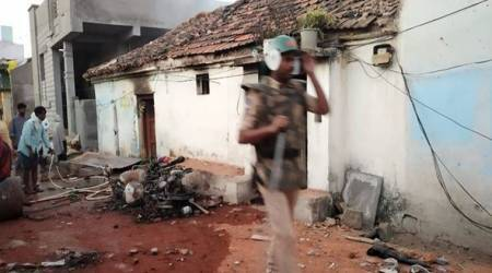 After houses, vehicles set ablaze in Telangana town, blame-game between BJP, AIMIM