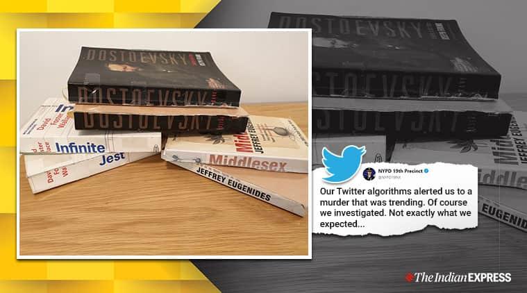 Book murderer, Book cut in half, Long book cut in half, Book cut in half tweet, Viral tweet, Indian Express, Odd news