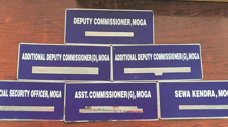 Moga Deputy Commissioner Sandeep Hans said the initiative was taken by the District Social Security Department under the Sugamya Bharat Abhiyan (Accessible India Campaign) so that persons with disabilities coming to government offices won't face any kind of difficulty.