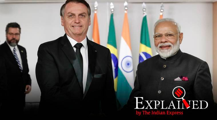 Explained: Ahead of Bolsonaro's visit on Republic Day, a look at India-Brazil ties