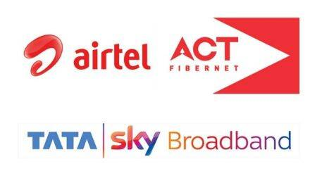 Best monthly broadband plans, Airtel, Jio Fiber, ACT Fibernet, BSNL, Tata Sky