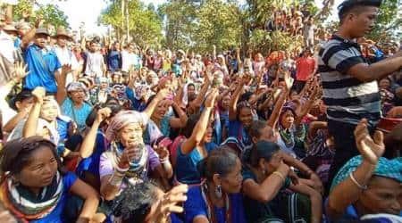 Bru leaders, Mizoram Bru Displaced People's Forum, Centre Bru agreement, Mizoram, Bru relief camps, Bru repatriation package, indian express, Tripura news