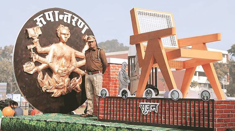 Chandigarh: Burail Jail tableau wins first prize in Republic Day parade