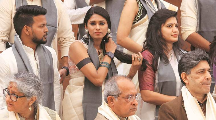 Ahmedabad: CEPT students wear black bands at convocation to protest CAA