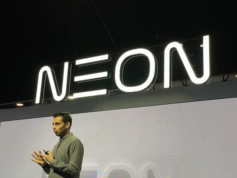 ces 2020, pranav mistry ces 2020, neon life, Consumer Electronics Show (CES), NEONs, NEONs ces, Star Labs samsung, ces news, latest news, tech news, indian express