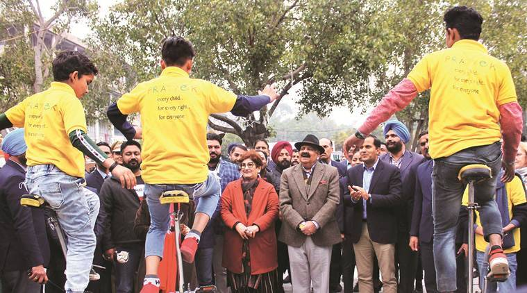Chandigarh: At 'Climategiri', students lead the fight against climate change