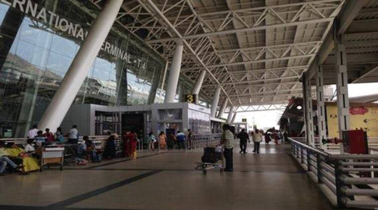 Chennai Airport, Chennai International airport, CAA, Airport security check, Dayanithi Maran, DMK, Indian Express News, Chennai News,Tamil Nadu news