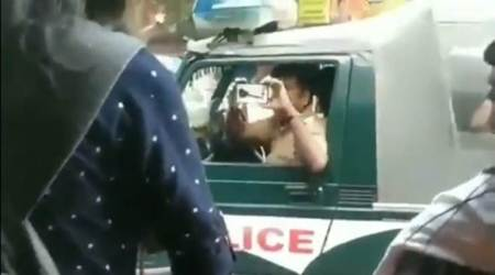 Chennai news, Chennai police, Facetagr, Chennai police record videos, Chennai CAA protests,