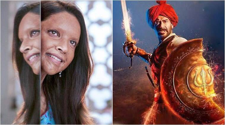 chhapaak tanhaji box office