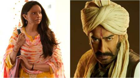 chhapaak vs tanhaji box office collection