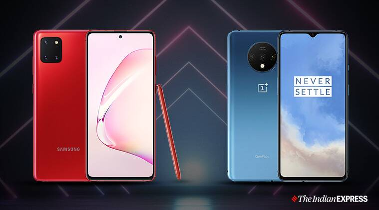 samsung galaxy note 10 lite, oneplus 7t, compare galaxy note 10 lite oneplus 7t, galaxy note 10 lite vs oneplus 7t, galaxy note 10 lite price, galaxy note 10 lite specifications, oneplus 7t price, oneplus 7t specifications