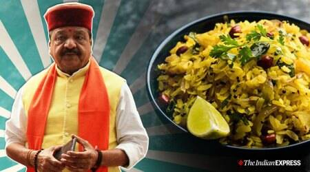 Kailash Vijayvargiya, BJP leader Kailash vijayvargiya poha, poha bangladesh workers, on Bangladeshi workers, Bangladeshi workers eating habits, India news, Indian express
