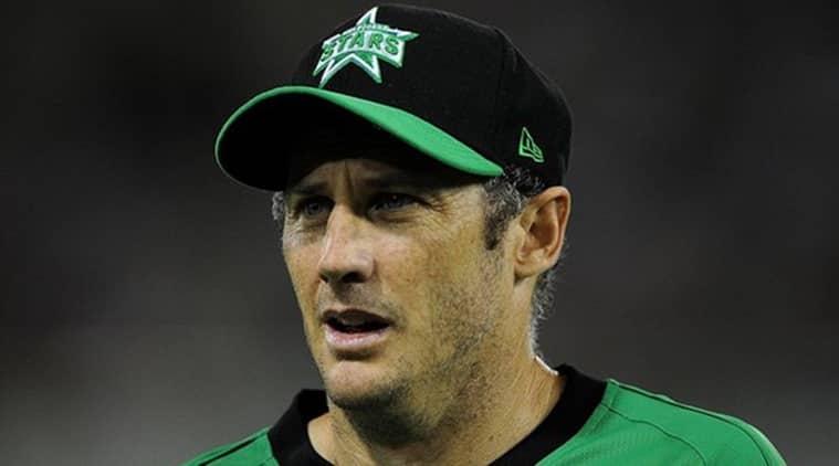 Stars coach david hussey fined for spikes joke