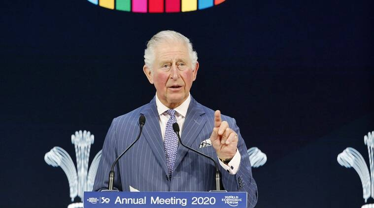 india-uk relations, prince charles, davos meet, prince of wales, climate change, world news, indian express