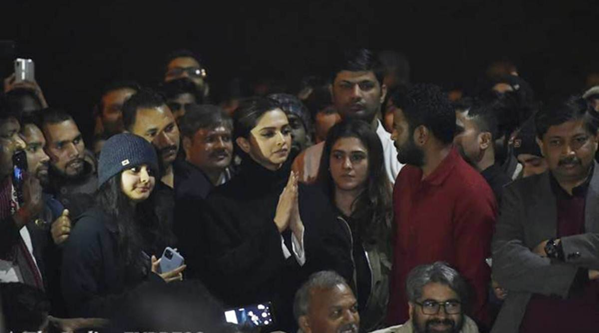 When Deepika Padukone visited JNU, it was loudest Bollywood had spoken out  on issues | India News,The Indian Express