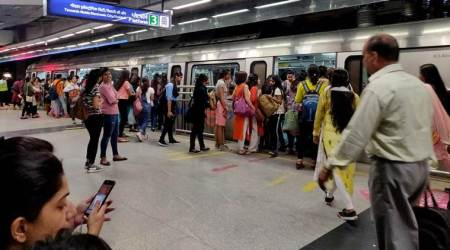 jamia protests, shaheen bagh protests, man arrested with gun at jamia metro, man arrested with gun at delhi metro, delhi protests, delhi city news