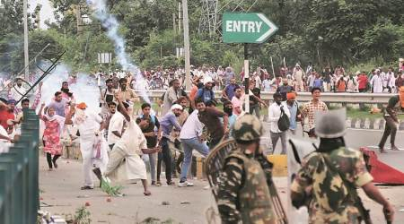 dera sacha sauda, 2017 panchkula violence, 2017 dera sacha sauda violence, gurmeet ram rahim singh, up protesters pay damage, caa protests in up, indian express news