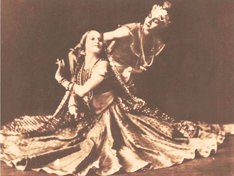 Uday Shankar, Anna Pavlova, Protima Chatterjee, Meeting of Two Cultures, Protima Chatterjee documentry, indian express news