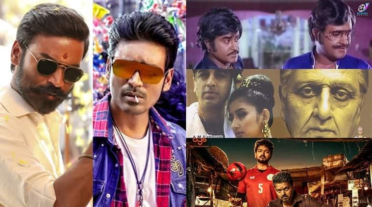 Dhanush, Rajinikanth, Kamal Haasan, Vijay