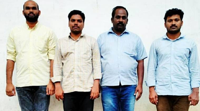 hyderabad crime, hyderabad news, ex-employees of drug firm held for stealing data, latest news, indian express